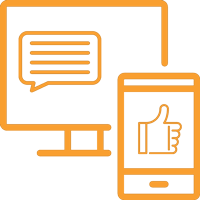 topyougo-social-media-management-flat-icon