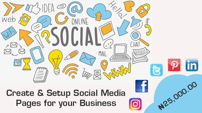 Setup Social Media Pages for your Business in Nigeria