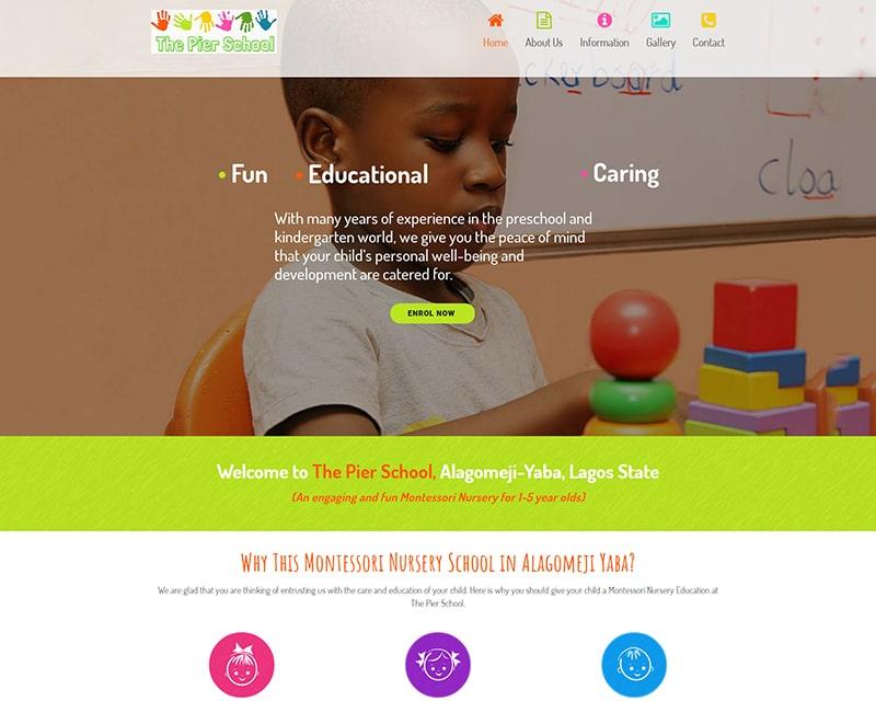 Web Design Company Lagos - School & Education