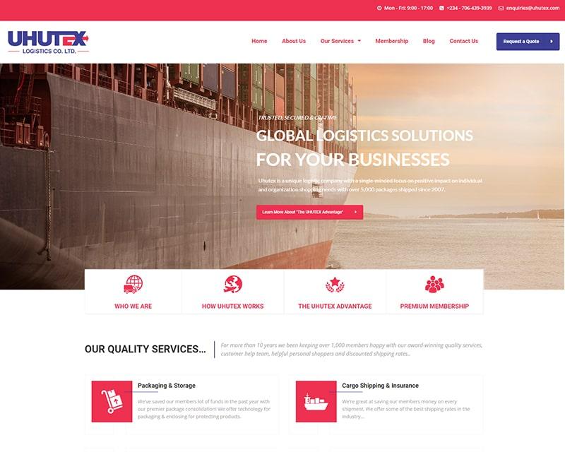 Web Design Company Lagos Nigeria - Logistics