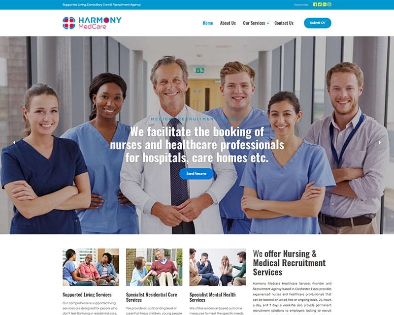 Web Design Company Nigeria - Healthcare