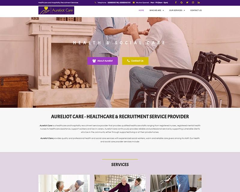 Web Designer in Nigeria - Healthcare
